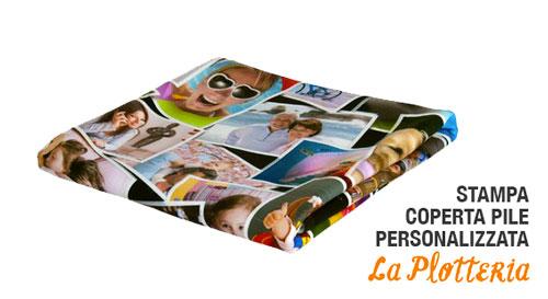 Coperta Pile Personalizzata Con Foto.Stampa Coperta La Plotteria